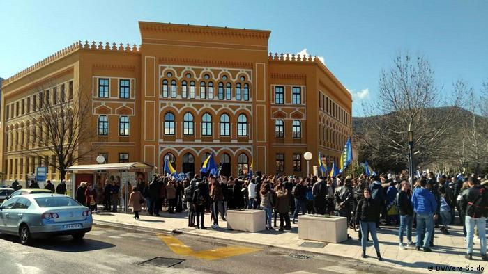 Bosnien-Herzegowina feiert Tag der Unabhängigkeit gespalten (DW/Vera Soldo)
