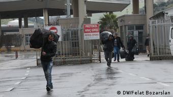 КПП на турецко-сирийской границе