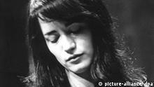 Die weltweit gefeierte argentinische Pianistin in einer Aufnahme vom März 1965 als Teilnehmerin (und spätere Siegerin) des VII. Internationalen Chopin Klavierwettbewerbs in Warschau (Polen).