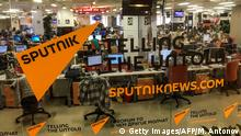 Offices of Sputnik (Getty Images/AFP/M. Antonov)