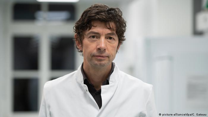 Coronavirus - Virologe Christian Drosten (picture-alliance/dpa/C. Gateau)