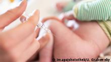 Symbolbild Masern-Impfung