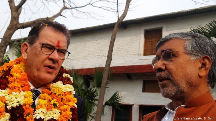 Indien Besuch des Entwicklungsministers Gerd Müller