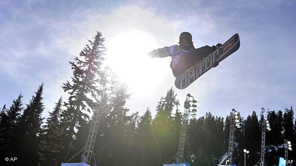 Olympia Vancouver Kanada Snowboard Flash-Galerie