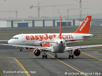 Easyjet plane on tarmac