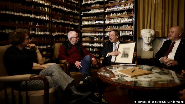 Ministerpräsident Laschet besucht Israel Ben-Gurion Haus