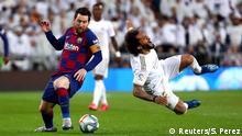 Spanien La Liga Real Madrid vs FC Barcelona Messi