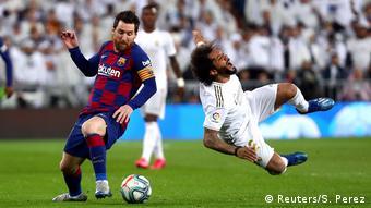 Матч чемпионата Испании по футболу
