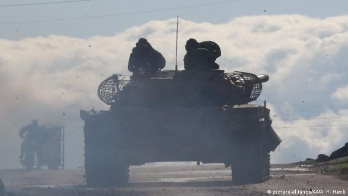 تانک ارتش سوریه در ادلب
