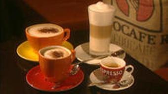 Разные виды кофейных напитков