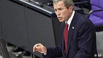 George W. Bush: Rede im Bundestag in Berlin