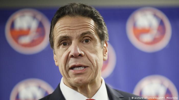 Gouverneur von New York Andrew Cuomo (picture-alliance/dpa/AP/J. Minchillo)