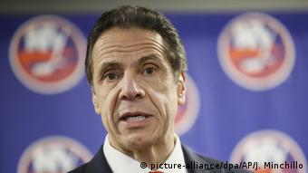Gouverneur von New York Andrew Cuomo (picture-alliance/dpa/AP/J. Minchillo)