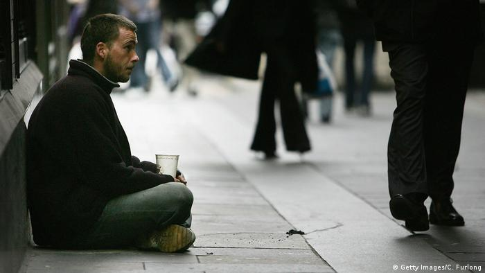 Schottland Obdachlosen-Krise