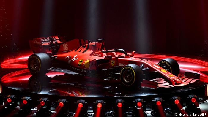 The SF1000, Ferrari's car for the 2020 F1 season (picture-alliance/IPP)