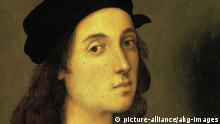Maler Raffael Selbstporträt