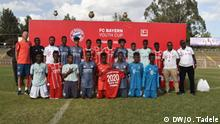 Omna Tadele (DW Amharic correspiondent) Schlagwörter: Players recruited in the tourney that will be representing Ethiopia in 2020 Bayern Youth Cup in the coming May. (27-28.02.2020 Addis Ababa), Addis Abeba, Ethiopia, Äthiopien