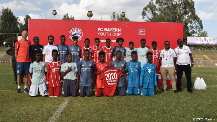 Bayern Youth Cup player nomination in Ethiopia y, Addis Abeba, Ethiopia, 27-28.02.2020