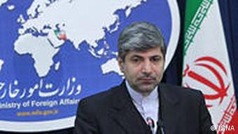 رامین مهمانپرست، سخنگوی وزارت امورخارجه