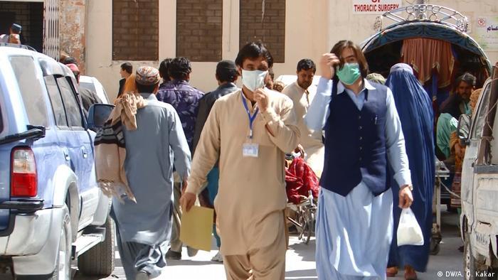 Pakistan Belutschistan Coronavirus (DW/A. G. Kakar)