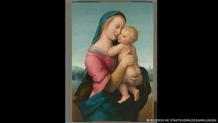 Madonna Tempi, de Rafael