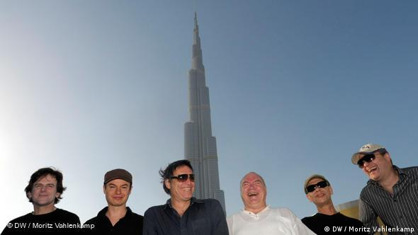 Die Band Nighthawks in Dubai (Foto: Moritz Vahlenkamp)