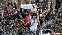 Griechenland Grenzübergang bei Kastanies/Edirne