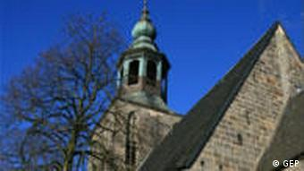 A Protestant church in Lower Saxony, Germany