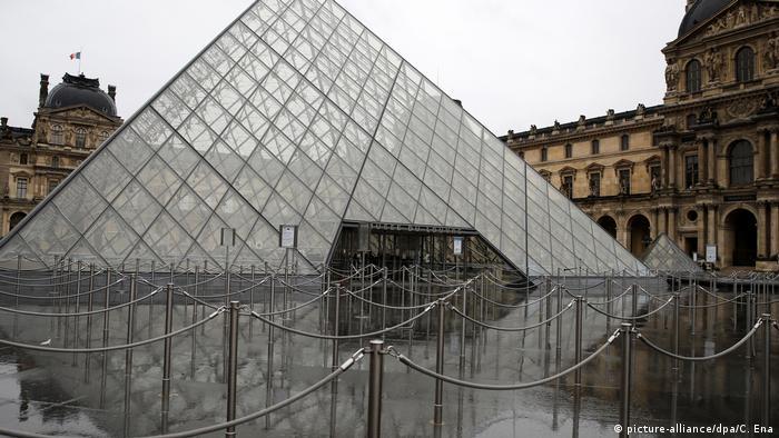 Frankreich | Tourismus und Corona | Paris Louvre