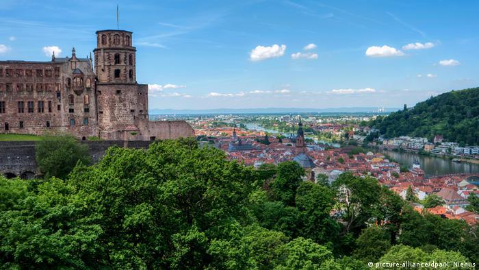 Stadtansicht von Heidelberg