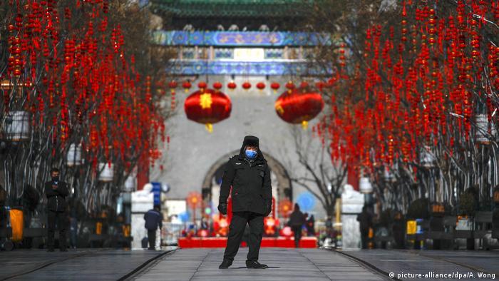 China | Tourismus und Corona | Peking