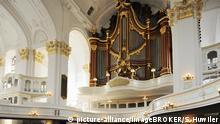 Deutschland Hamburg Orgel der Barockkirche St. Michaelis