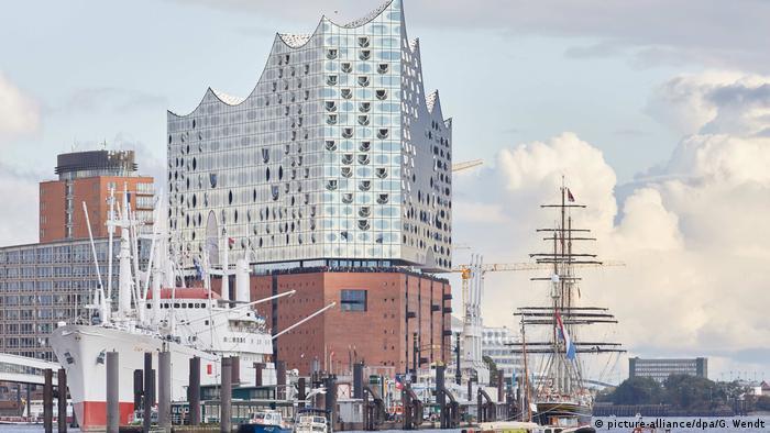 Deutschland Hamburg Elbphilharmonie (picture-alliance/dpa/G. Wendt)