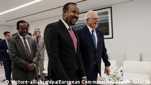 Äthiopien Besuch des EU-Außenbeauftragten Josep Borrell