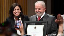 Frankreich Lula da Silva erhält die Ehrenbürgerschaft von Paris