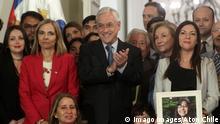 Santiago de Chile Sebastian Pinera Gabriela Gesetze Femizide