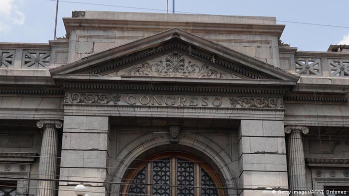 Foto de la fachada del Congreso de Guatemala