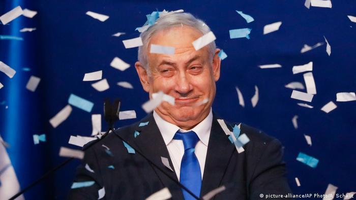 الكنيست الاسرائيلي ينتخب مرشح الليكود بنيامين نتانياهو رئيساً للحكومة للمرة الخامسة في فبراير 2020