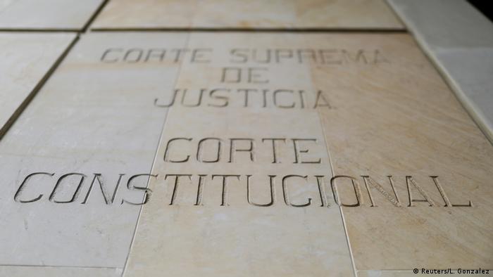 Kolumbien Oberster Gerichtshof in Bogota