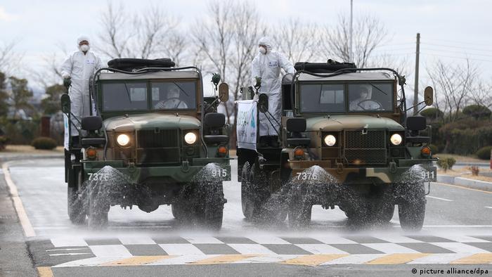 До протидії поширенню вірусу у Південній Кореї залучили армію