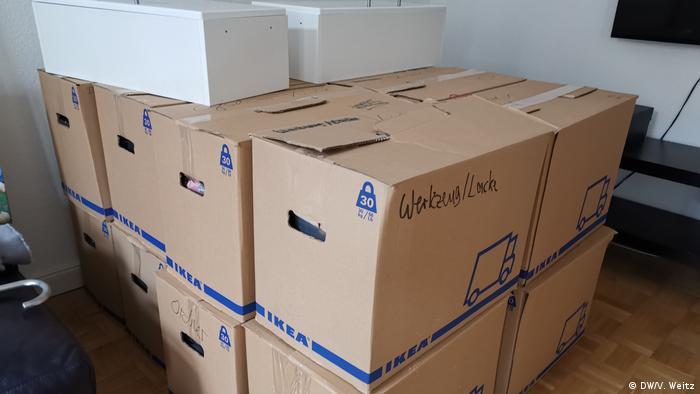 Коробки для переїзду - найбільш прості для транспортування