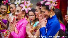 USa Minneapolis   Thai Wai Begrüßung