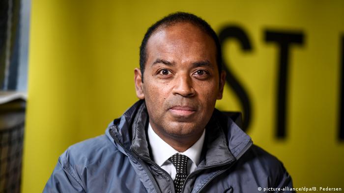 Amnesty International - Markus N. Beeko bei Bekanntgabe des Menschenrechtspreis 2020