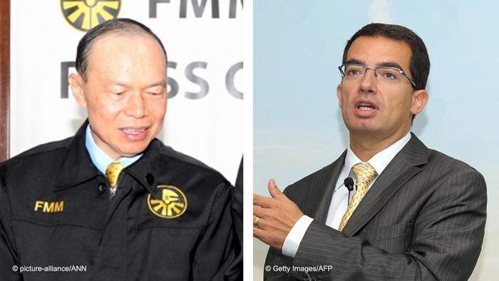 Gambar Lim Wee Chai und Stephane Bancel