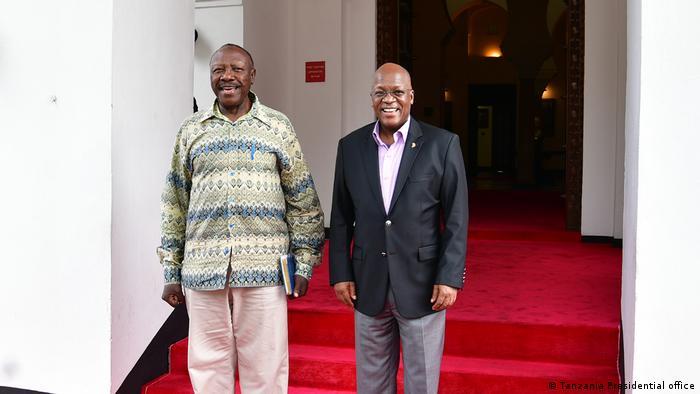 John Pombe Magufuli und Ibrahim Lipumba Tansania