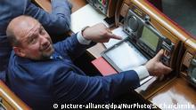 Ukraine Kiew 2015 | Serhij Melnitschuk, Abgeordneter | Bataillon Ajdar