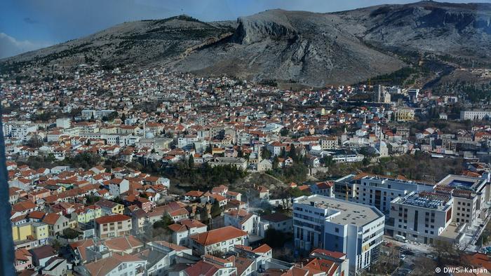 Bosnien und Herzegowina UWC in Mostar | United World College: Zayed-Nachhaltigkeitspreis: Stadtpanorama Mostar