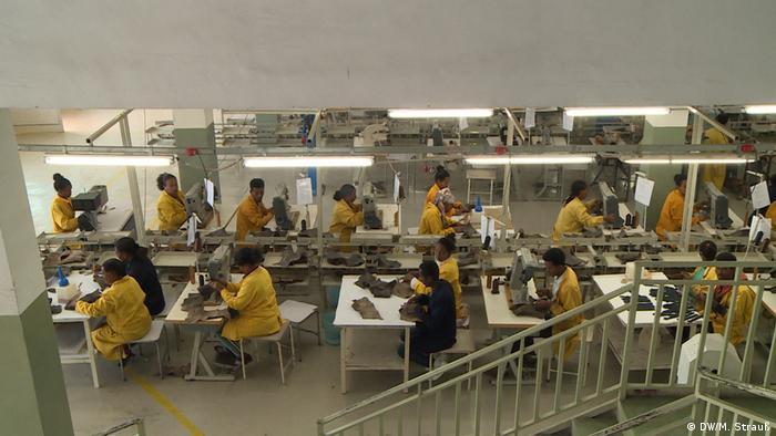 Äthiopien Addis Abeba   ELICO-Lederschuhfabrik (DW/M. Strauß)