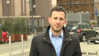 Brüssel   Raphael Shilhav EU-Berater für Migrationspolitik bei Oxfam (DW/M. Strauß)