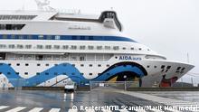Norwegen Haugesund | Coronavirus-Verdacht | Kreuzfahrtschiff AIDAaura